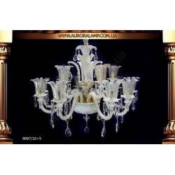 Люстра подвесная 9097/10+5. Свет люстры освещение оптом Одесса.