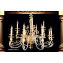 Люстра подвесная ksm6782-10+5 Люстры освещение оптом Одесса