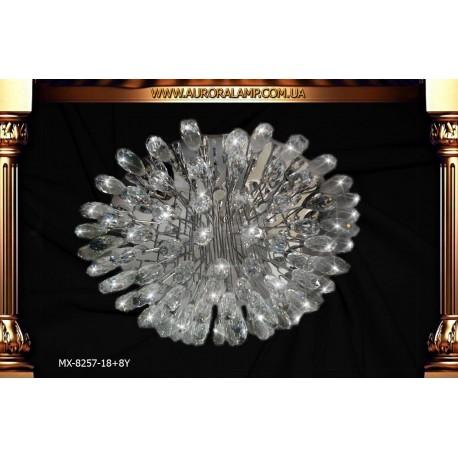 Люстра потолочная MX-8257-18+8Y Люстры освещение оптом Одесса