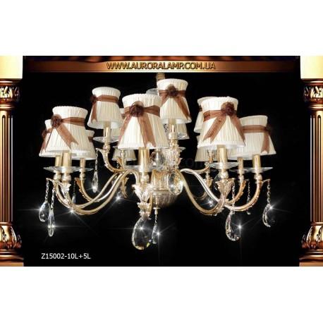 Люстра подвесная Z15002-10L+5L Люстры освещение оптом Одесса