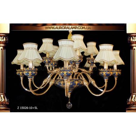 Люстра подвесная Z15026-10+5L Люстры освещение оптом Одесса