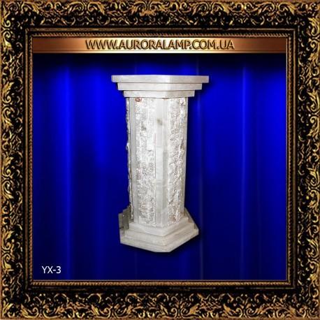 Колонна декоративная с подсветкой YX3 для интерьера. Магазин Аврора. Купить колонны в Одессе.