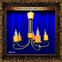 Люстра подвесная 2386/5H. Купить люстры оптом в Одессе.