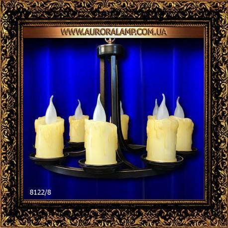 Люстра подвесная 8122/8. Купить люстры оптом в Одессе.