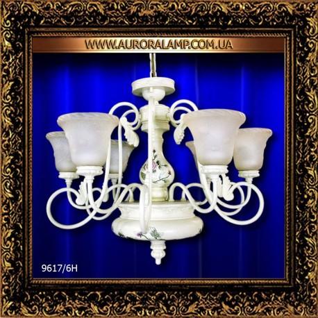 Люстра подвесная 9617/6H. Купить люстры оптом в Одессе.