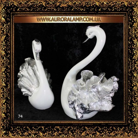 Декор Лебеди пара 74 Купить декор в Одессе.