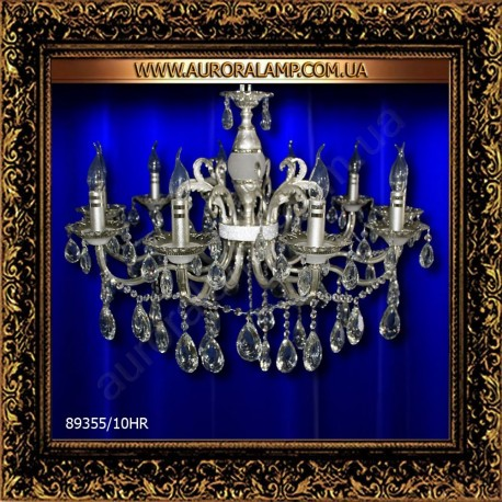 Люстра подвесная 89355/10HR. Свет люстры освещение оптом Одесса.