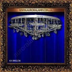 Люстра потолочная KX 8902/36. Свет люстры освещение оптом Одесса.