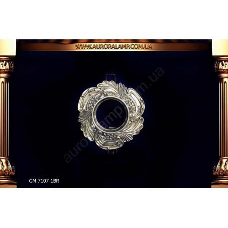 Встроенный свет, точечник GM7107-1 BR магазин Аврора