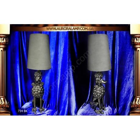 Лампа настольная 734 BK Купить настольную лампу магазин Аврора Одесса