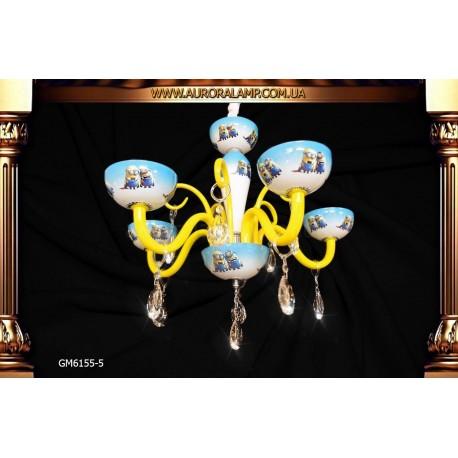 Люстра подвесная GM6155-5 Люстры освещение оптом Одесса