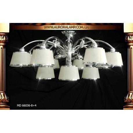 Люстра потолочная MD-66036-8+4 Люстры освещение оптом Одесса