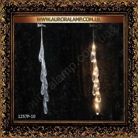 Люстра подвесная 1257P/10. Свет люстры освещение оптом Одесса.