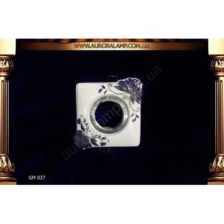 Встроенный свет, точечник GM037 керамика магазин Аврора