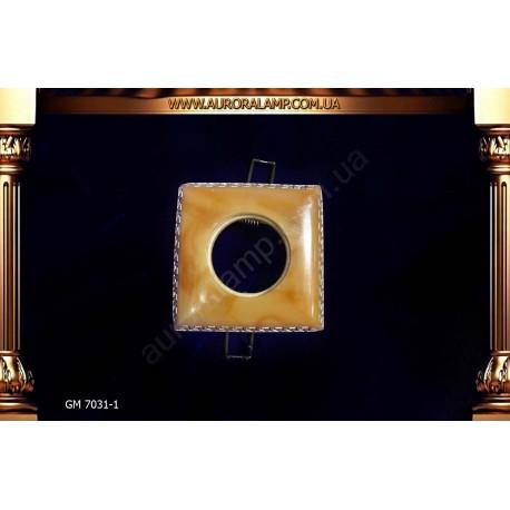 Встроенный свет, точечник GM7031-1 керамика магазин Аврора