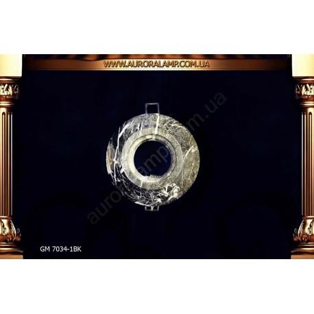 Встроенный свет, точечник GM7034-1 BK керамика магазин Аврора